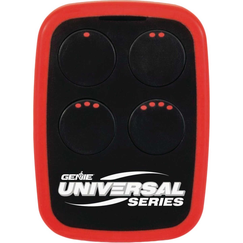 Genie Red 4-Button Universal Garage Door & Gate Opener Remote Image 1