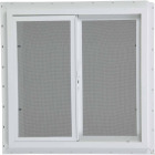 Northview 35-1/2 In. W. x 35-1/2 In. H. White PVC Single Glazed Utility Sliding Window Image 2