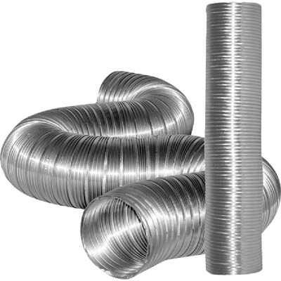 Dundas Jafine 3 In. x 8 Ft. Aluminum Semi-Rigid Dryer Duct