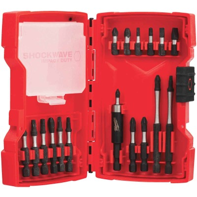 Milwaukee Shockwave Impact Screwdriver Bit Set (18-Piece)