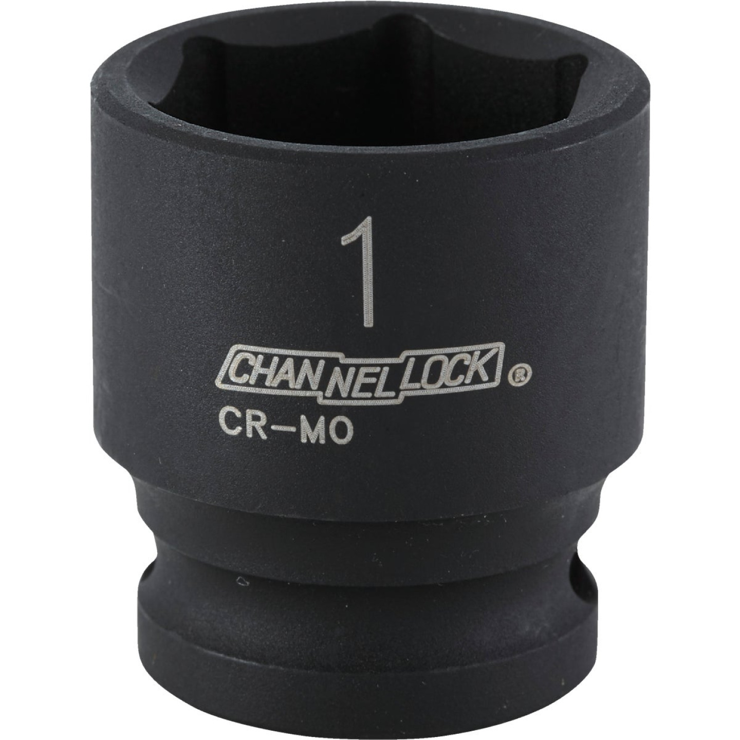 Channellock 1/2 In. Drive 1 In. 6-Point Shallow Standard Impact Socket Image 1