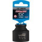 Channellock 1/2 In. Drive 1-1/4 In. 6-Point Shallow Standard Impact Socket Image 2