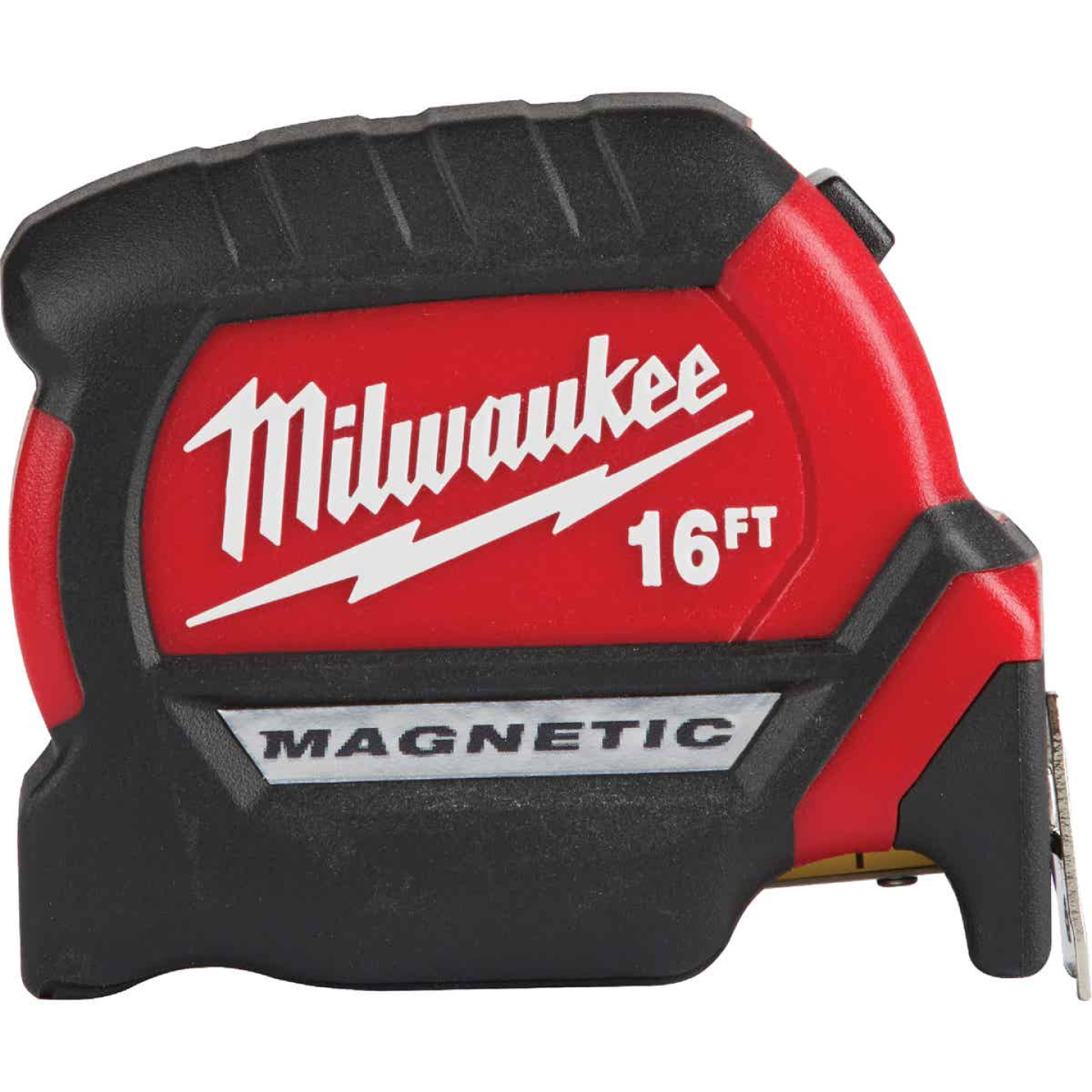 Milwaukee 16 Ft. Compact Wide Blade Magnetic Tape Measure Image 1