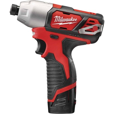Milwaukee M12 12 Volt Lithium-Ion 1/4 In. Hex Cordless Impact Driver Kit