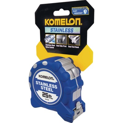 Komelon Gripper SS 25 Ft. Tape Measure