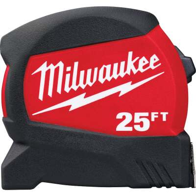 Milwaukee 25 Ft. Compact Wide Blade Tape Measure