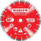 Diablo 10 In. Segmented Rim Dry/Wet Cut Diamond Blade Image 1