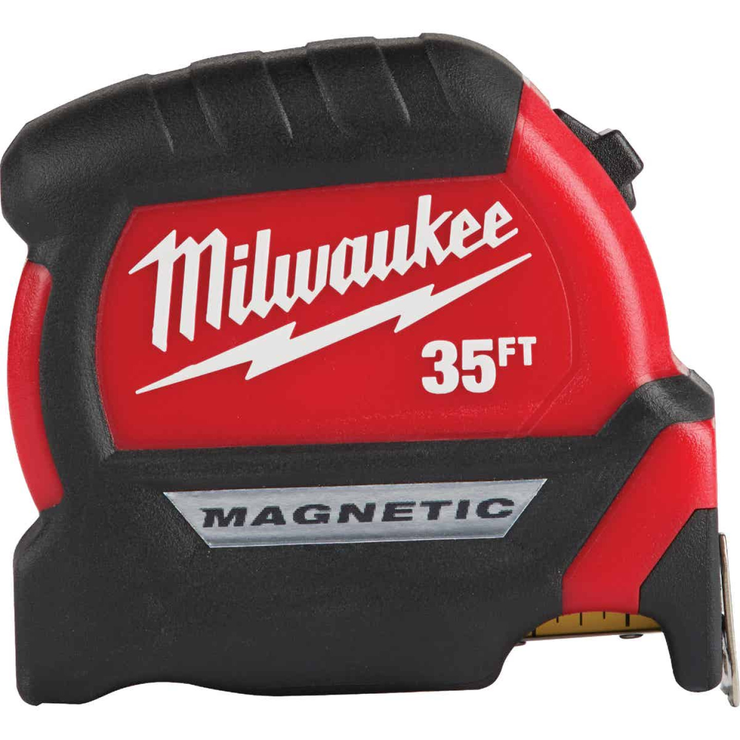 Milwaukee 35 Ft. Compact Wide Blade Magnetic Tape Measure Image 1