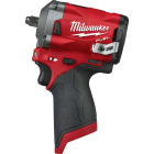 Milwaukee M12 FUEL 12 Volt Lithium-Ion Brushless 3/8 In. Stubby Cordless Impact Wrench (Bare Tool) Image 1