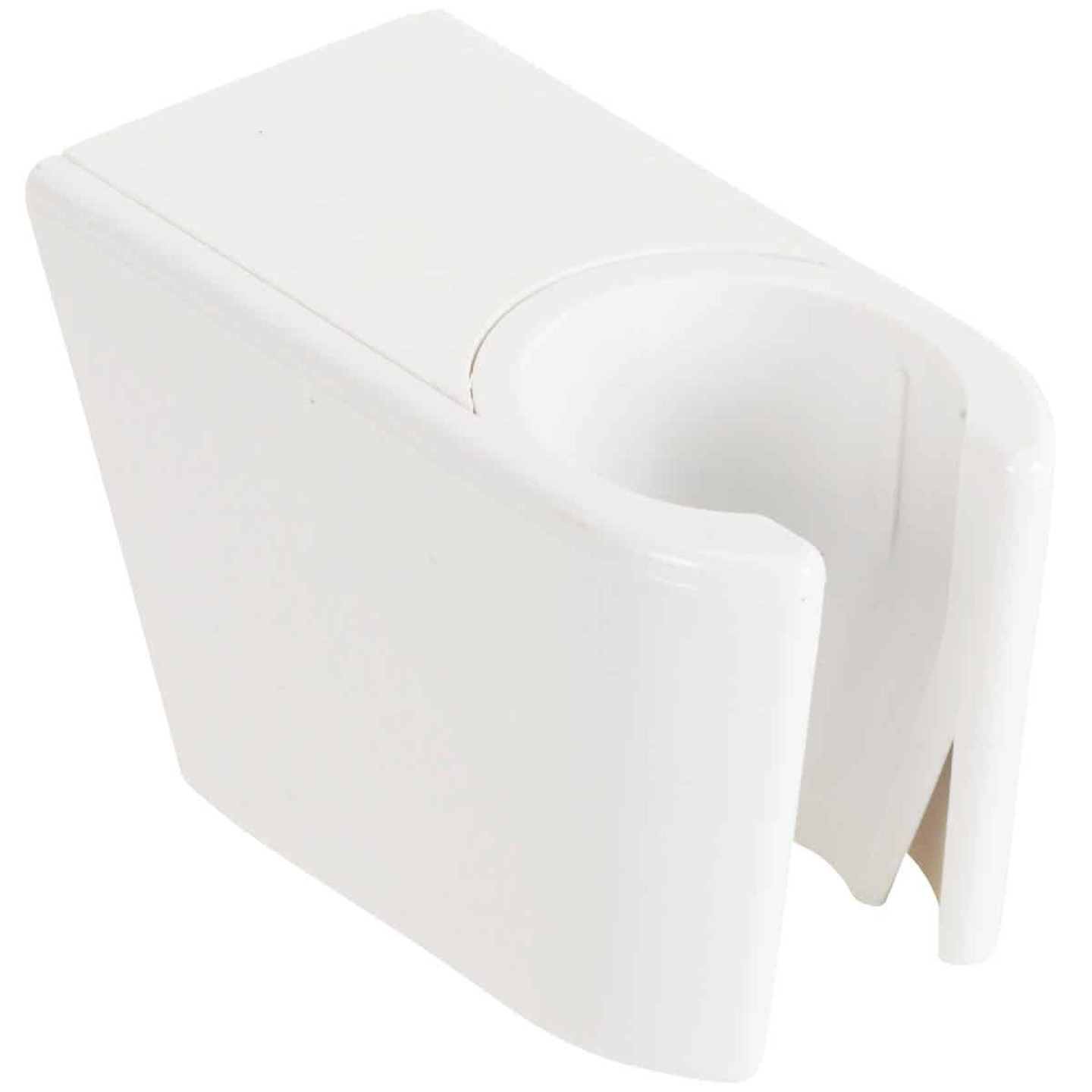 Do it White Plastic Shower Wall Mount Image 3