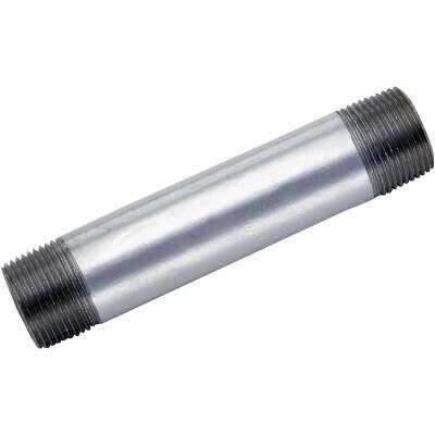 Anvil 1/2 In. x Close Welded Steel Galvanized Nipple