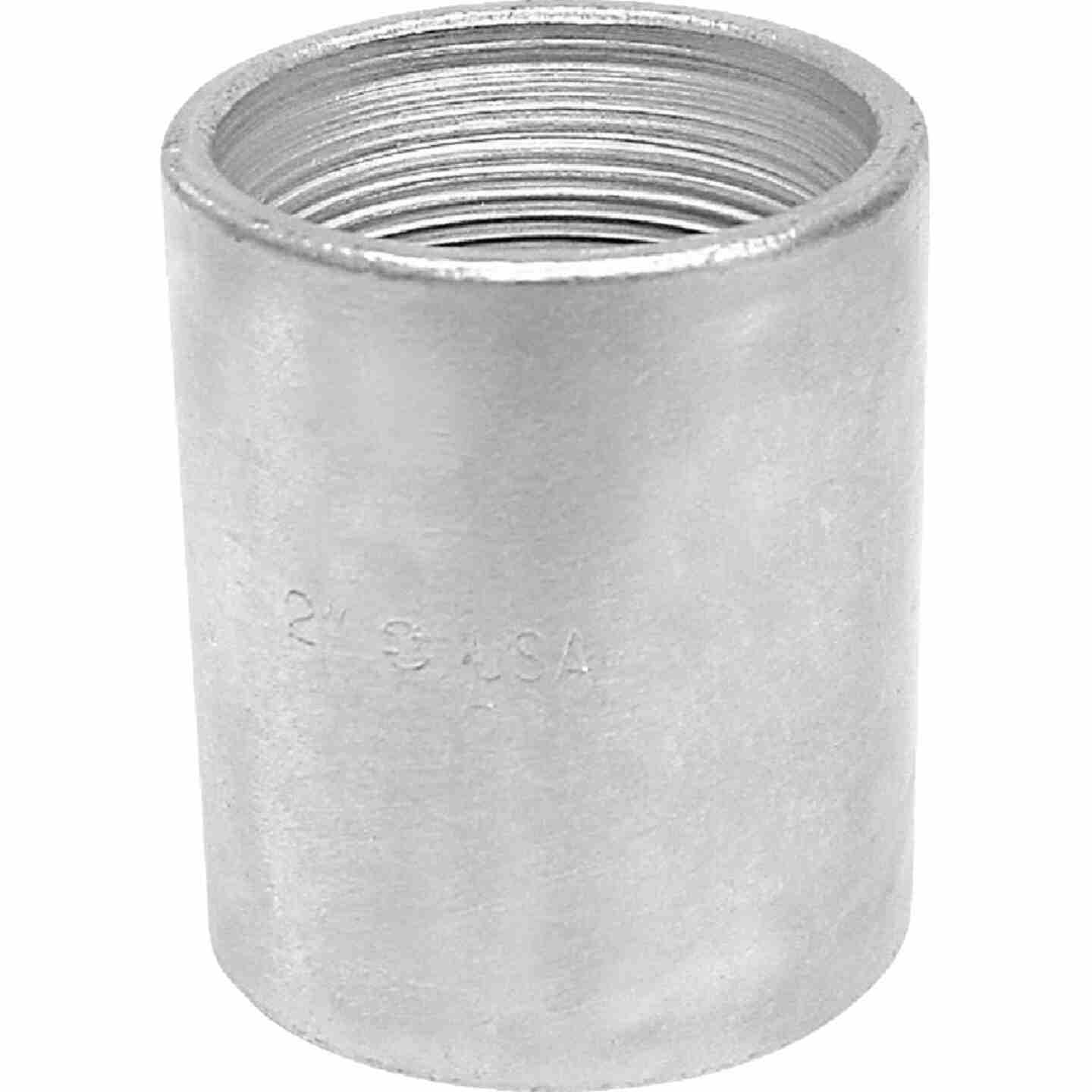Anvil 1/8 In. x 1/8 In. FPT Standard Merchant Galvanized Coupling Image 1