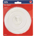 Do it Suction-Grip 5 OD White Sink Rubber Drain Stopper Image 2