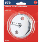 Do it Two-Hole Chrome Bath Drain Face Plate Image 2