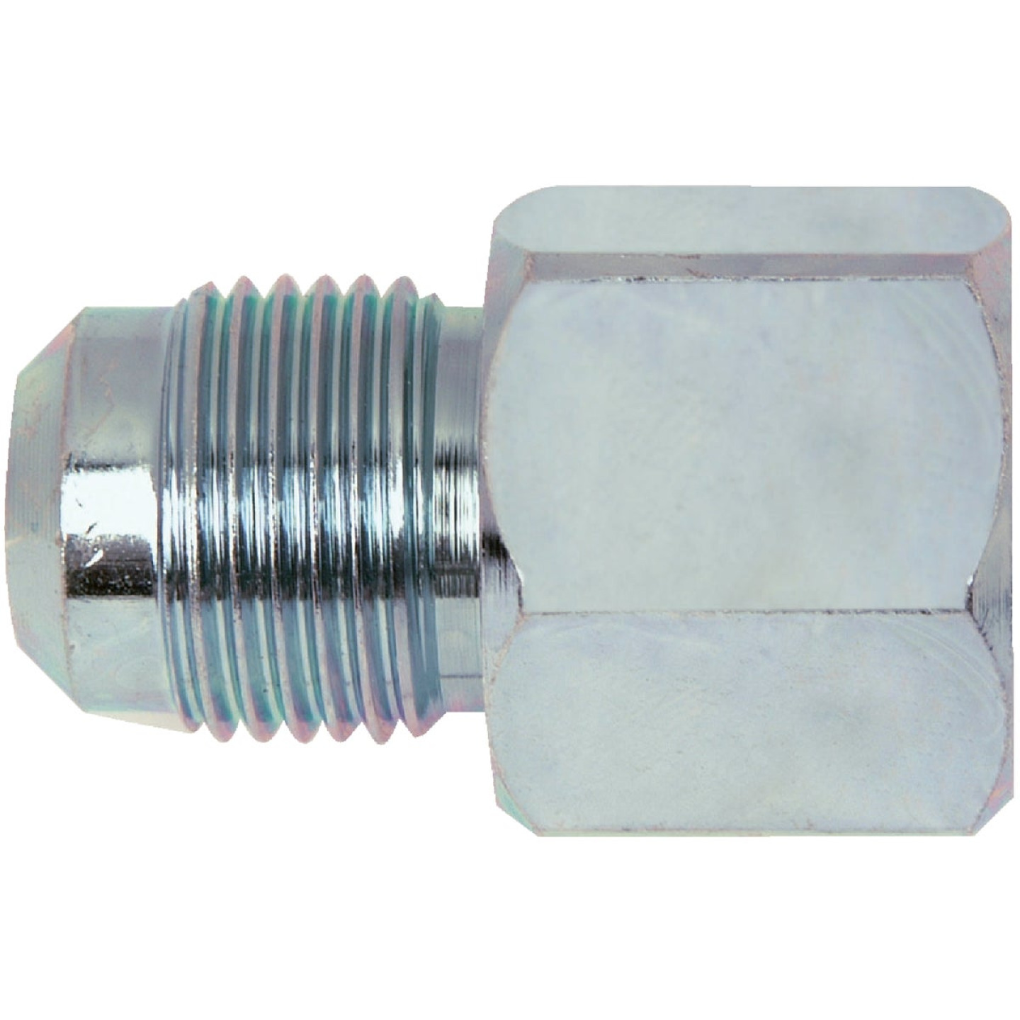 Dormont 3/8 In. OD Flare x 1/2 In. FIP Brass Adapter Gas Fitting Image 1