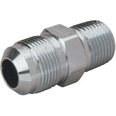 Dormont 5/8 In. OD Flare x 3/4 In. MIP (tapped 1/2 In. FIP) Brass Adapter Gas Fitting