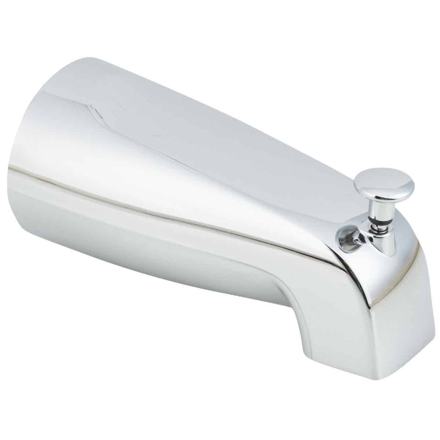 Do it 5-1/2 In. Chrome Bathtub Spout with Diverter Image 1