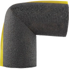 Tundra 1/2 In. Wall Self-Sealing Polyethylene Elbow Pipe Insulation Wrap, 3/4 In. Fits Pipe Size 3/4 In. Copper Image 1