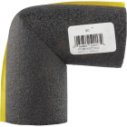 Tundra 1/2 In. Wall Self-Sealing Polyethylene Elbow Pipe Insulation Wrap, 3/4 In. Fits Pipe Size 3/4 In. Copper Image 2