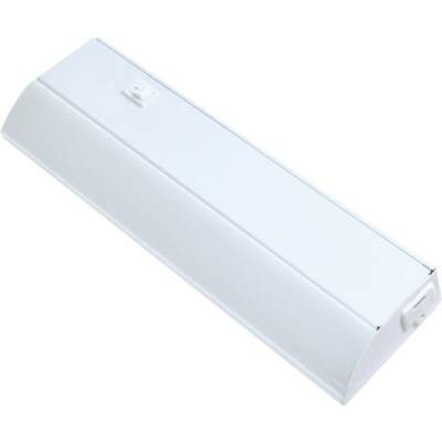 Good Earth Lighting  12 In. Direct Wire White LED Under Cabinet Light Bar