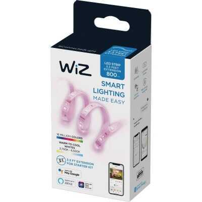 Wiz 3.3 Ft. L. White 2700K to 6500K LED Smart Strip Extension
