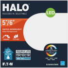 Halo 5 In./6 In. Retrofit Baffle Selectable Color Temperature LED Recessed Light Kit, 1006 Lm. Image 2
