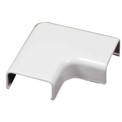 Wiremold White 90 Deg Flat Elbow
