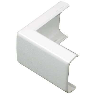 Wiremold CordMate White 90 Deg Outside Elbow