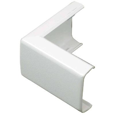Wiremold CordMate White 90 Deg Outside Elbow
