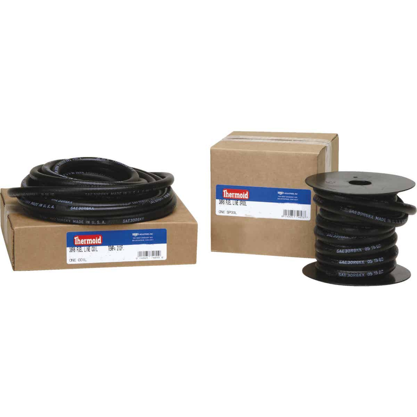 Thermoid 1/4 In. ID x 2 Ft. L. Fuel Line Hose Image 1
