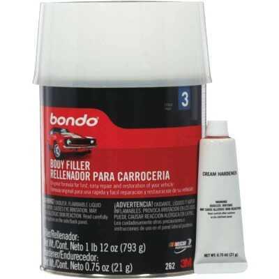 3M Bondo Qt. Original Body Filler w/Hardener