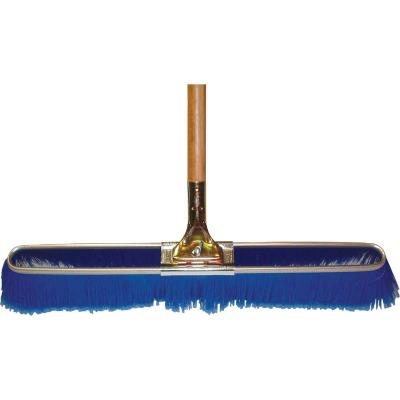 Bruske 23 In. W. x 65 In. L. Wood Handle Fine Sweep Push Broom