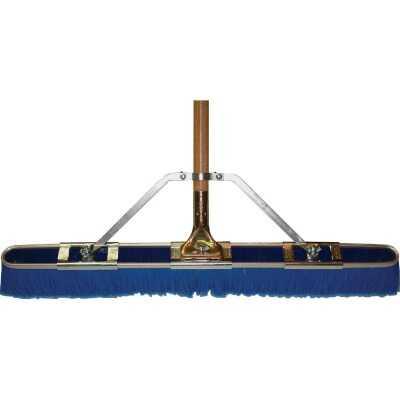 Bruske 29 In. W. x 65 In. L. Wood Handle Fine Sweep Push Broom