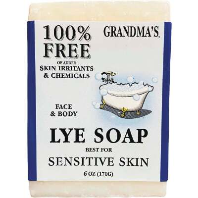 Grandma's Lye 6 Oz. Bar Soap