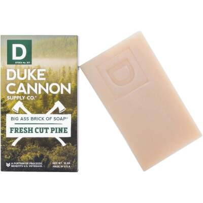 Duke Cannon 10 Oz. Fresh Cut Pine Big Ass Brick of Soap