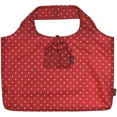 Meori Red Pocket Shopper Bag