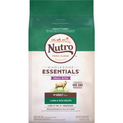 Nutro Wholesome Essentials Small Bite 5 Lb. Lamb & Rice Adult Dry Dog Food