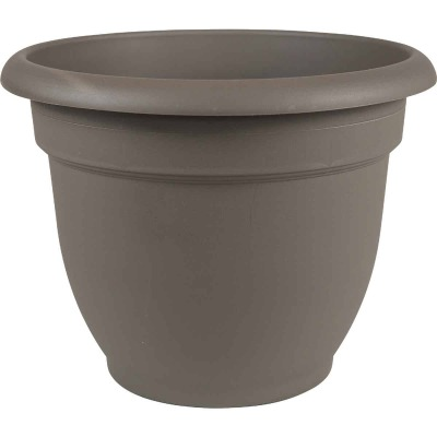 Bloem Ariana 6.5 In. H. x 6 In. Dia. Plastic Self Watering Charcoal Planter