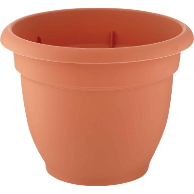 Bloem Ariana 10 In. Plastic Self Watering Terracotta Planter