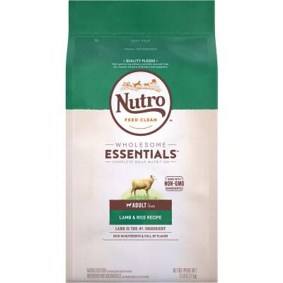 Nutro Wholesome Essentials 5 Lb. Lamb & Rice Adult Dry Dog Food