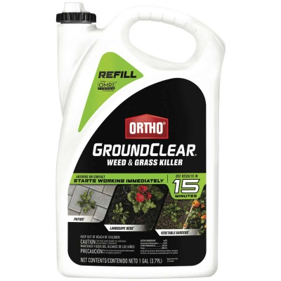 Ortho GroundClear 1 Gal. Ready To Use Refill Weed & Grass Killer
