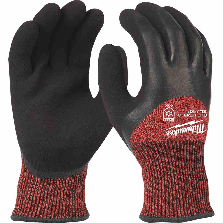 Milwaukee Unisex XL Latex Coated Cut Level 3 Insulated Work Glove Image 1