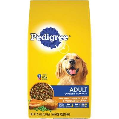 Pedigree Complete Nutrition 3.5 Lb. Roasted Chicken, Rice, & Vegetable Adult Dry Dog Food