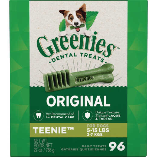 Greenies Teenie Toy Dog Original Flavor Dental Dog Treat (96-Pack)