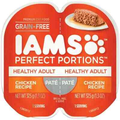 Iams Perfect Portions Healthy Adult 2.6 Oz. Chicken Flavor Adult Wet Cat Food
