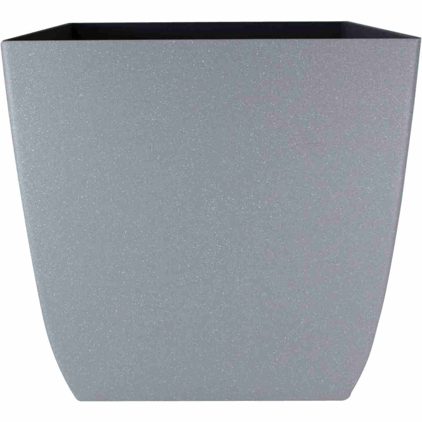 Myers Santa Fe 12 In. Pebble Gray Square Planter Image 1