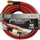 Best Garden 5/8 In. Dia. x 50 Ft. L. Drinking Water Safe Contractor Hose Image 1