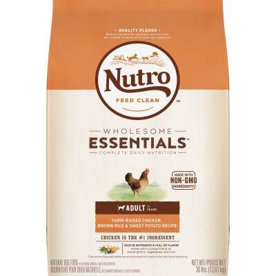 Nutro Wholesome Essentials 30 Lb. Chicken, Brown Rice, & Sweet Potato Adult Dry Dog Food