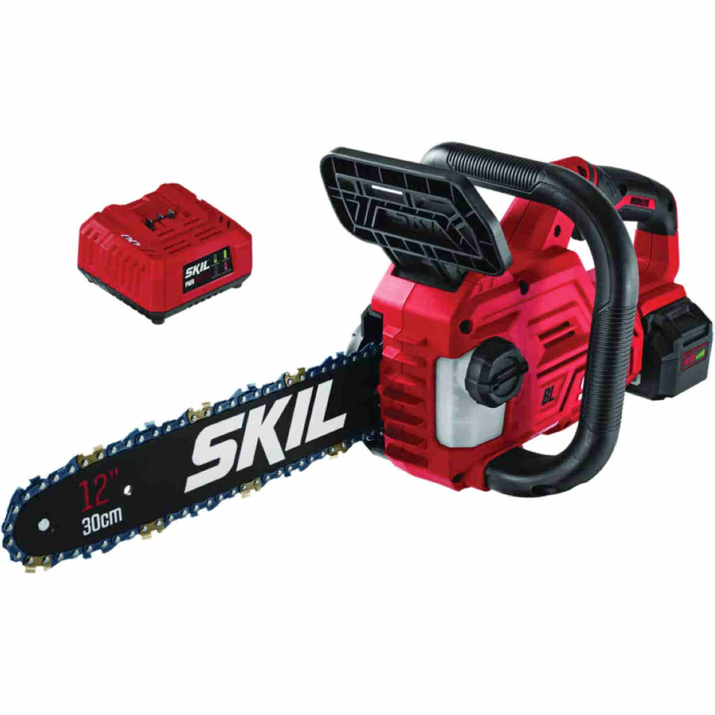 SKIL PWRCore 12 In. 20V Brushless Chainsaw Image 1