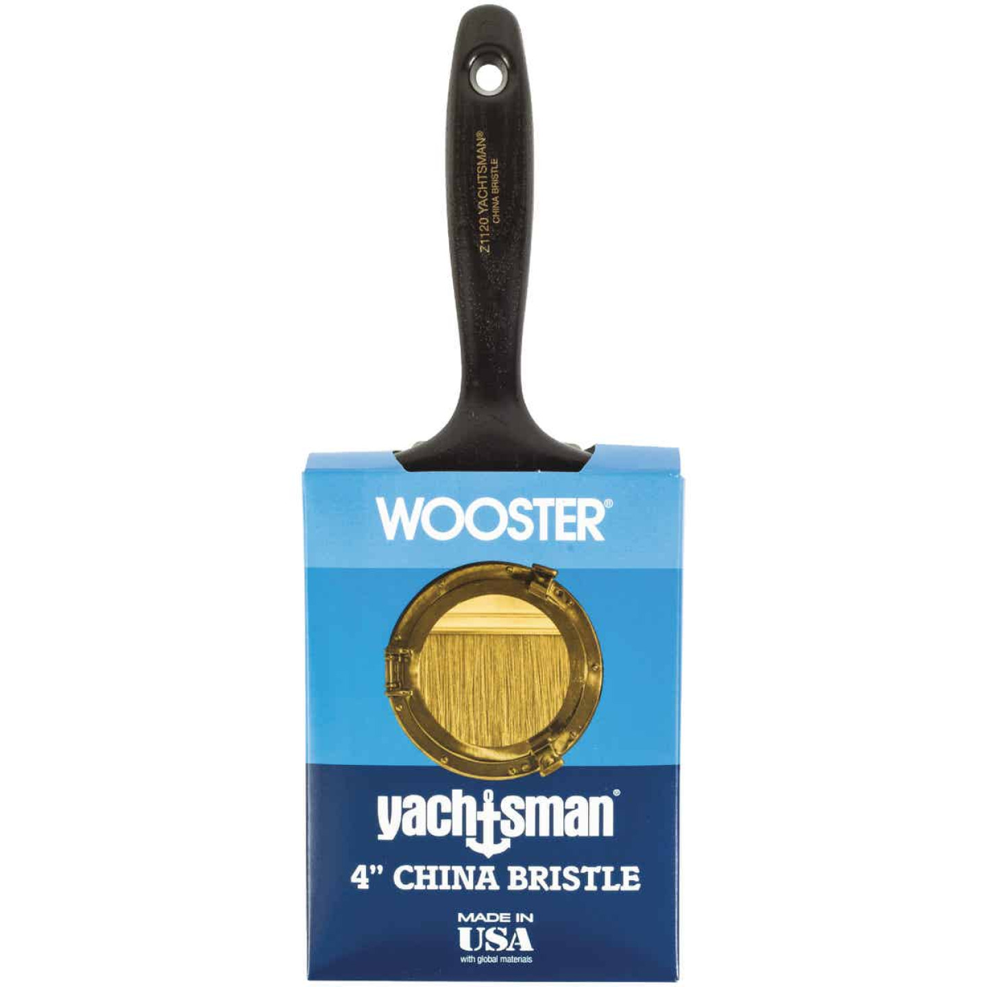 Wooster Yachtsman Varnish 4 In. Flat Paint Brush Image 1